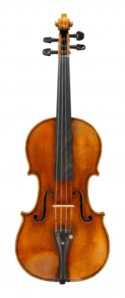 Front of a violin by Nicolas Lupot, Paris, 1817
