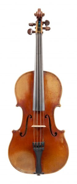Front of a violin by Nicolas Vuillaume, Mirecourt, mid-19th century