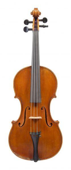 Front of a violin by Paolo de Barbieri, Genoa, 1926