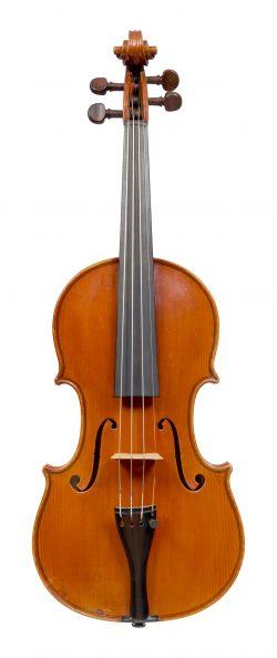 Front of a violin by Piero Parravicini, Milan, 1928
