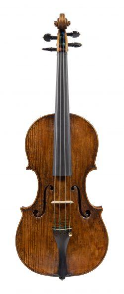 Front of a violin by Pietro Antonio dalla costa, Treviso, circa 1735