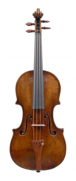 Front of a violin by Pietro Guarneri of Venice, ex-Victor Aitay