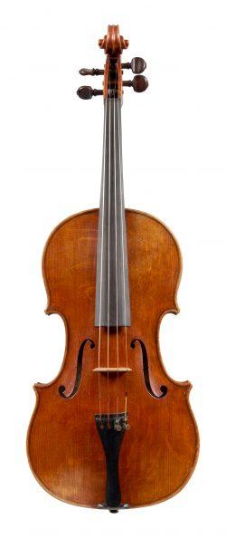 Front of a viola by Roger & Max Millant, Paris, 1965