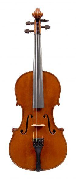 Front of a violin by Romeo Antoniazzi, Milan, circa 1910