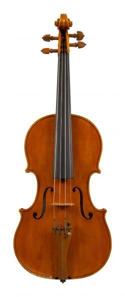 Front of a violin by Sesto Rocchi, San Polo d'Enza, 1980