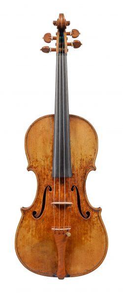 Front of a violin by Stefan Peter Greiner, Bonn, 1996