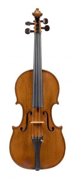 Front of a violin by Thomas Hardie, Edinburgh, circa 1825