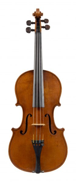 Front of a violin by Thomas Kennedy, London, 1831