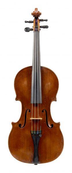 Front of a violin by Vincenzo Sannino, Naples, circa 1910-15