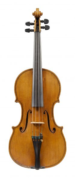Front of a violin by Willi Lindörfer, Berlin, 1939
