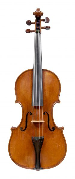 Front of a violin by William Forster, London, circa 1780