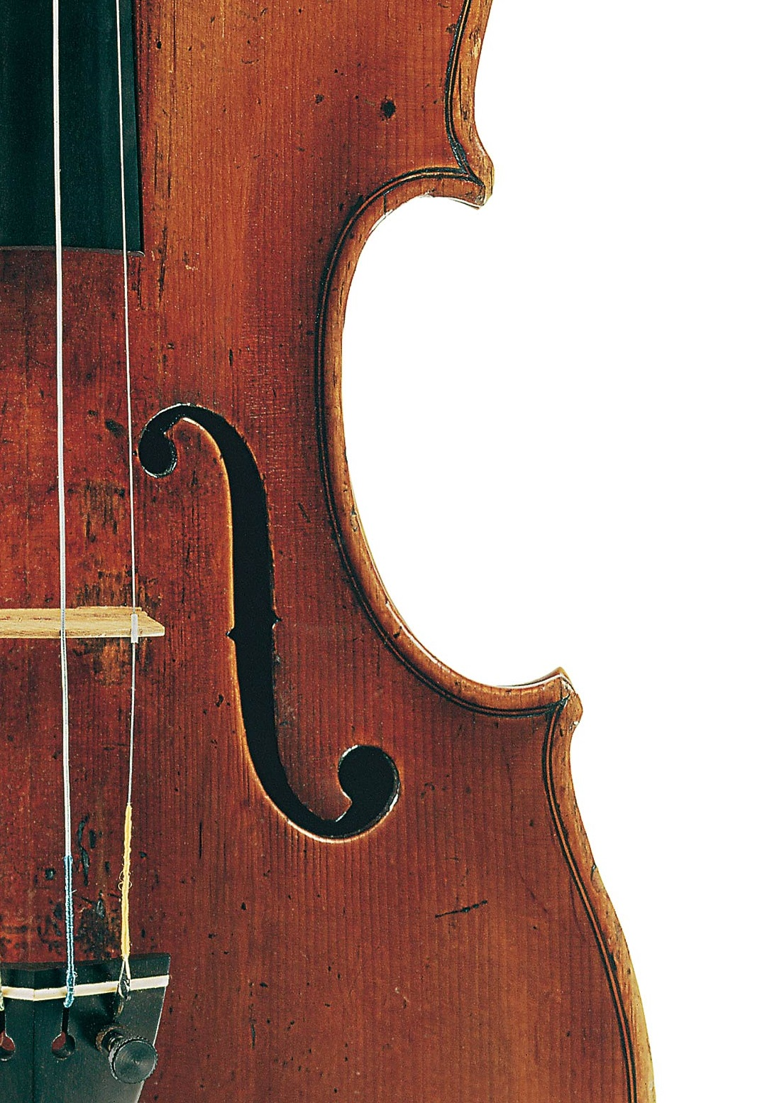 Front of the ex-Bloomfield violin by Domenico Montagnana, Venice, 1731