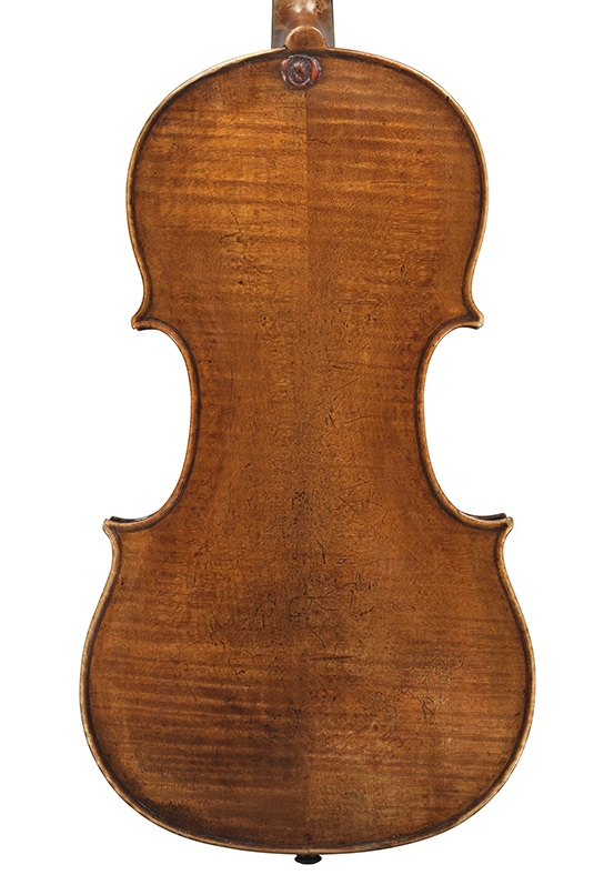 Back of the ex-Wittgenstein viola by the Brothers Amati, circa 1620
