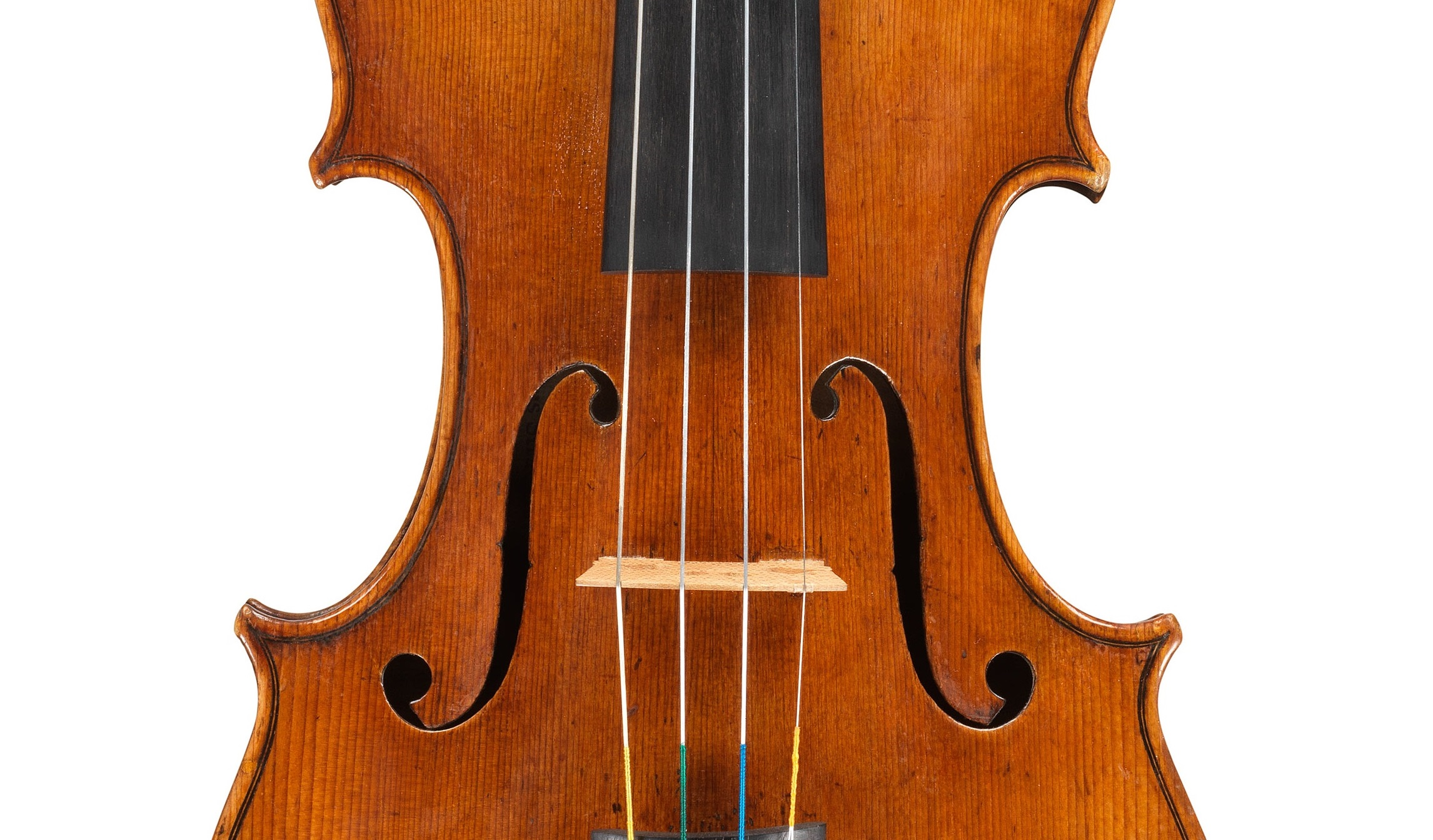 Front of a violin by Antonio Stradivari, ex-Sachs, 1667