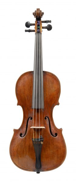 Front of a violin by Domenico Corbucci, Cittá di Castello, c1885