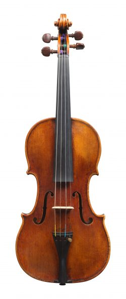 Front of a violin by Matteo Goffriller, Venice, c1700