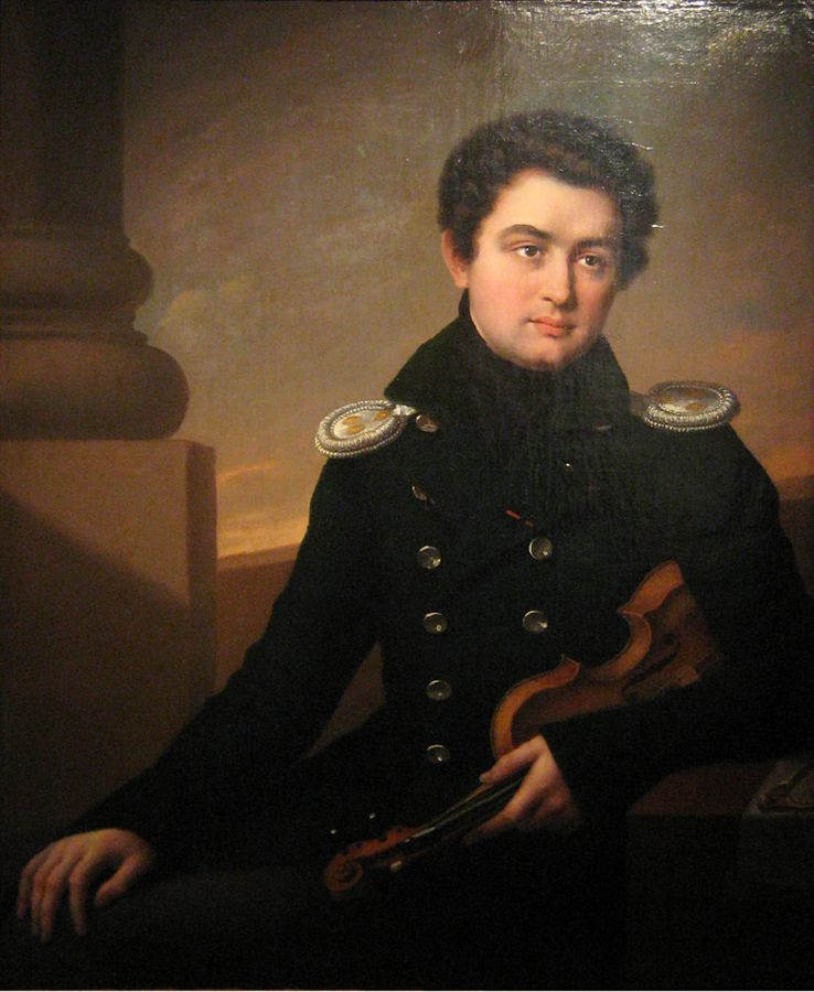 Alexei Lvov who once owned the Tsar Nicholas violin by J.B. Vuillaume