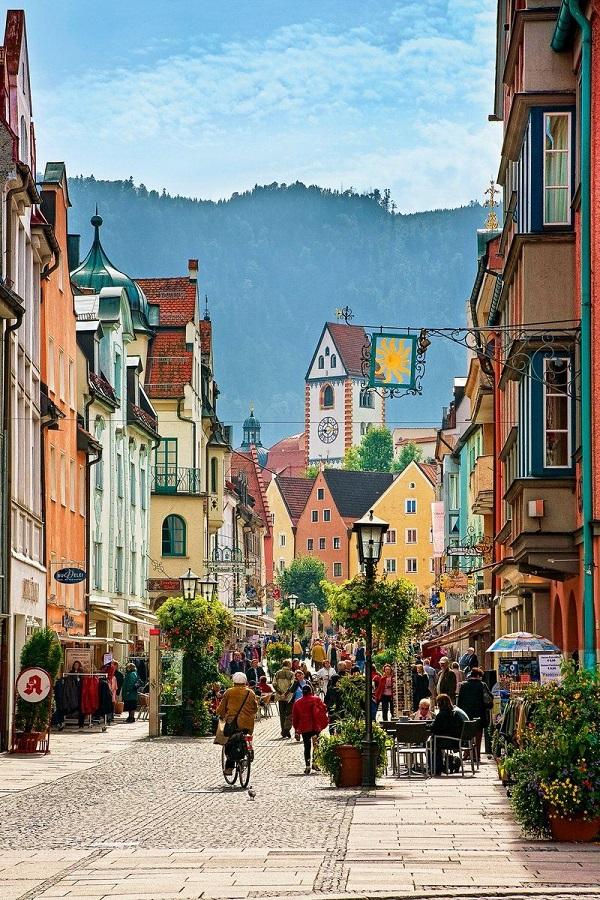 Füssen, David Tecchler's home town