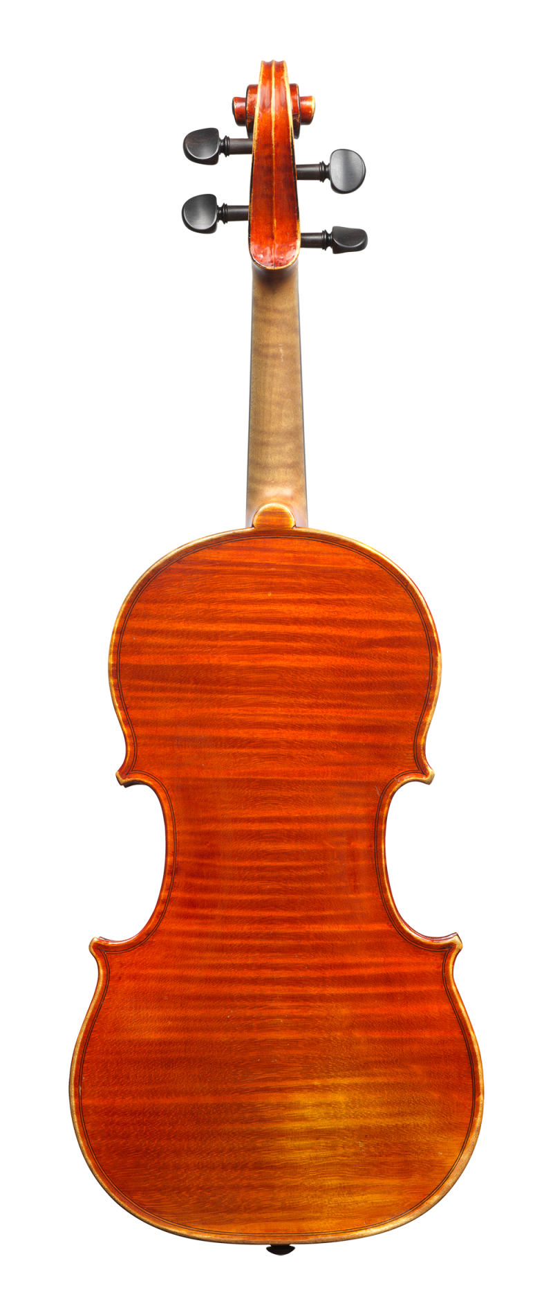 Back of a violin by Annibale Fagnola, Turin, 1923