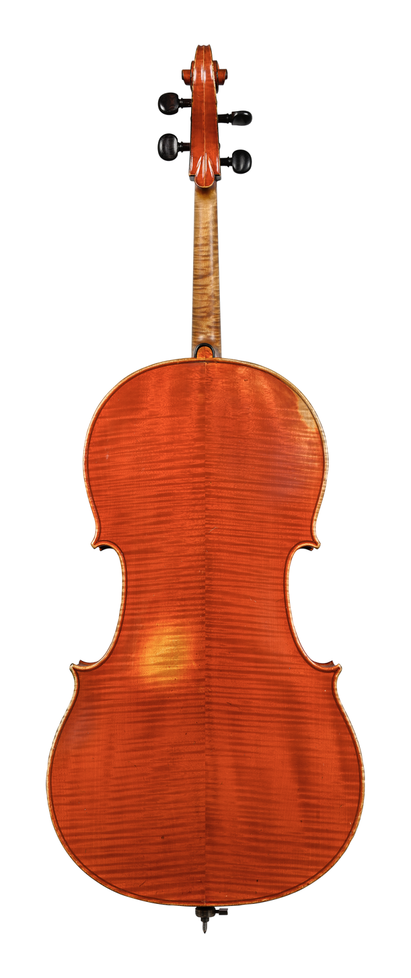 Back of a cello by Charles Adolphe Gand, Paris, 1847.jpg
