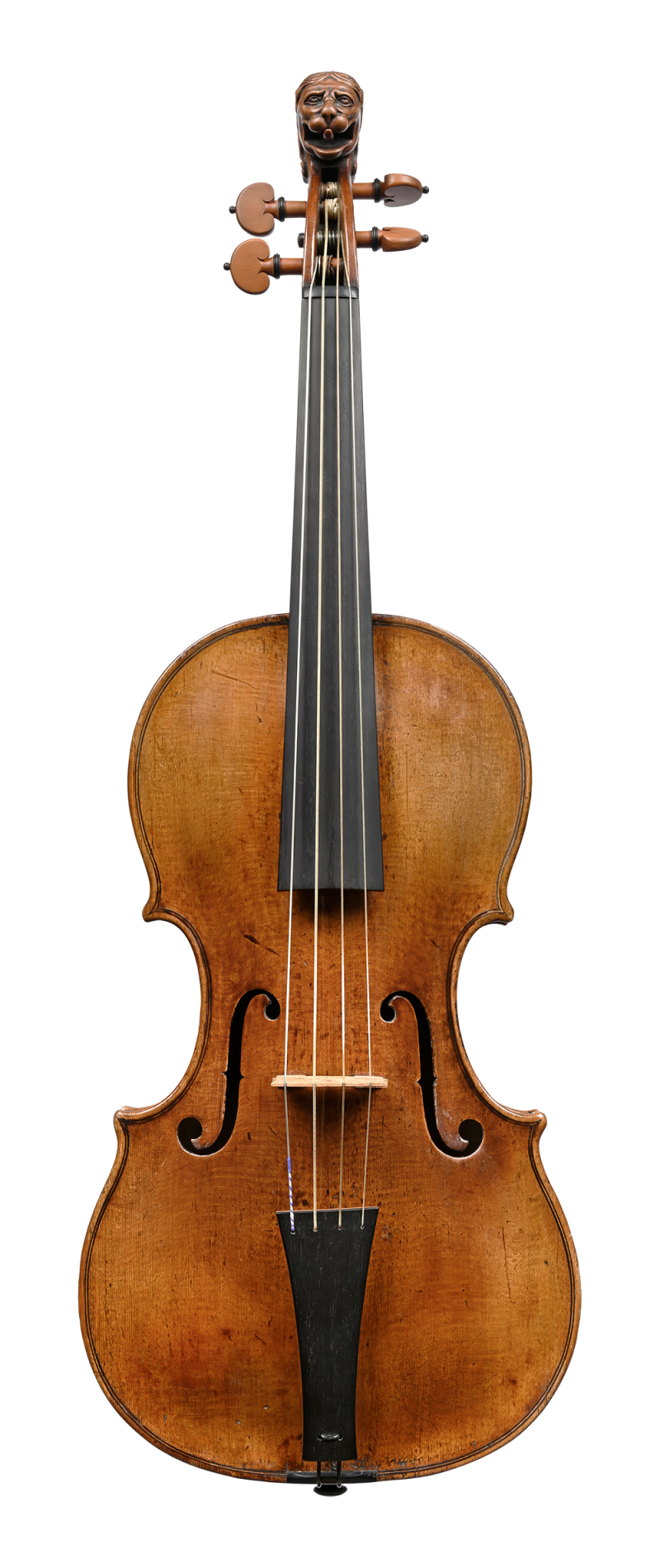 Front of a violin by Jacob Stainer, Absam, 1669