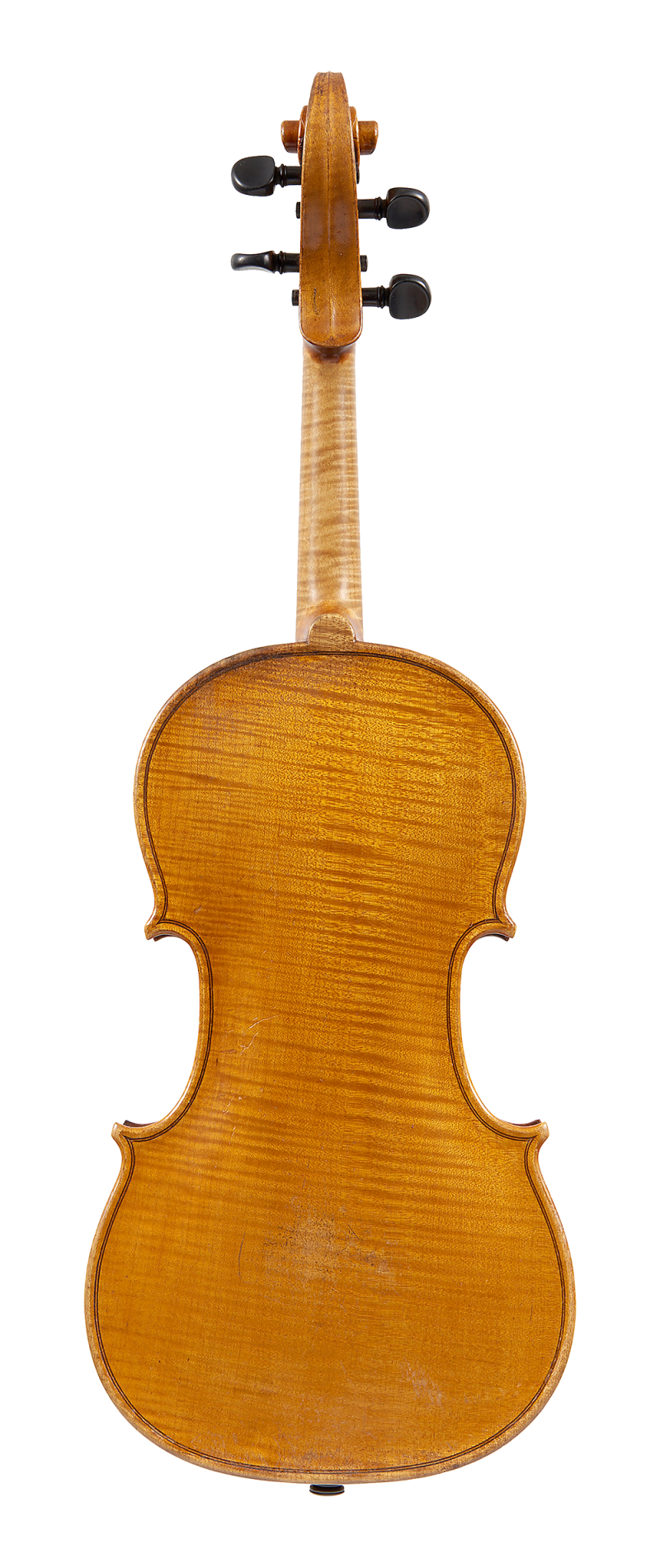 Back of a violin by Johannes Theodorus Cuypers, The Hague, 1807.jpg